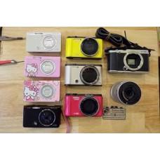 รับซื้อกล้อง ฟูจิ casio canon