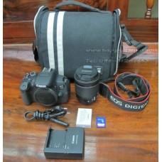 กล้อง Canon eos 700D พร้อมเลนส์ EF-S 188-55mm ประกันศูนย์ พร้อมอุปกรณ์