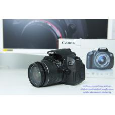 กล้อง canon 700D พร้อมเลนส์ 18-55 ครบกล่อง