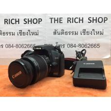 กล้องCanon 1000D len 18-55is